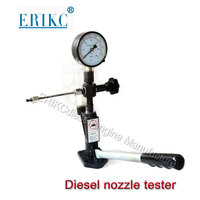 ERIKC Liseron Hottest Common Rail Tester Injection Test Equipment E1024008 Pump Injector Calibration and Piezo Injector Tester