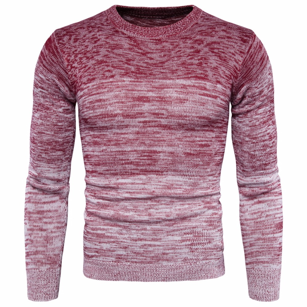2017 New O-neck sweaters men pullovers fitness knitwear mens sweater full sleeve casual knitting pullover clothes M-3XL big size