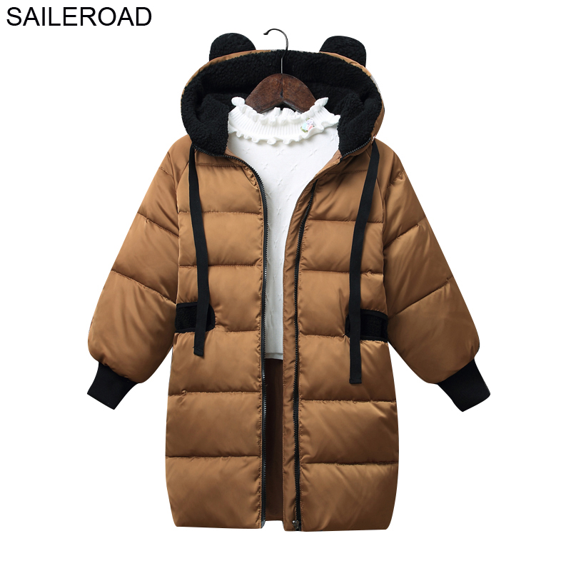 SAILEROAD 4-9Year Wear -30 Degree Children Kids Down Jacket Winter New Boys Girls Outerwear White Duck Down Coat Child Clothes цена 2017