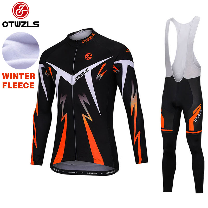 2018 Cycling Bib Sets Cycling Clothing Pro Team Bike Kit Wear Winter Thermal Fleece MTB Bicycle Jersey Set Maillot Ropa Ciclismo xintown pro team cycling jerseys ropa ciclismo maillot winter thermal fleece bicycle clothing mens bicycle clothing bike clothes