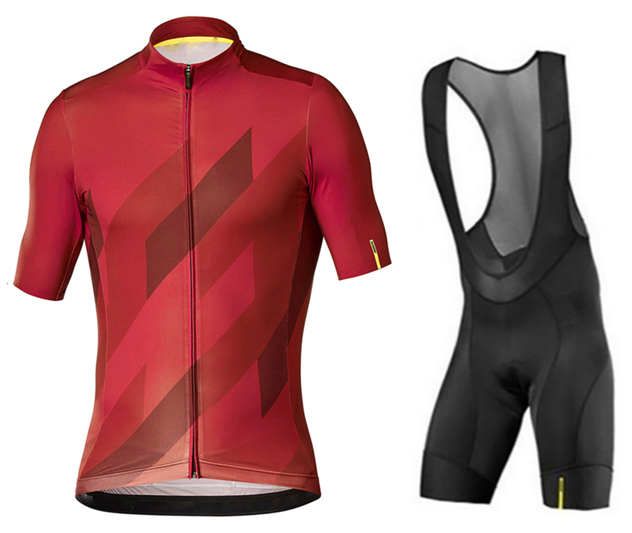 MAVIC 2019 Pro team cycling jersey and bib shorts set breathable summer Tops Shirt Ropa Ciclismo Men Maillot Culotte wear