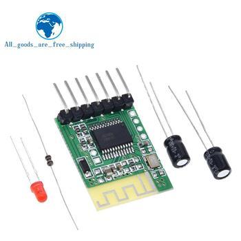 TZT Bluetooth audio receptor plantilla, altavoz inalámbrico estéreo, amplificador de potencia modificado DIY módulo Bluetooth 4,0