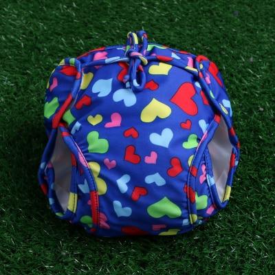 Super Cute Heart Adjustable Baby Swim Diapers Swimwear Infantil Girl Swim Nappy New Born baby Boy short