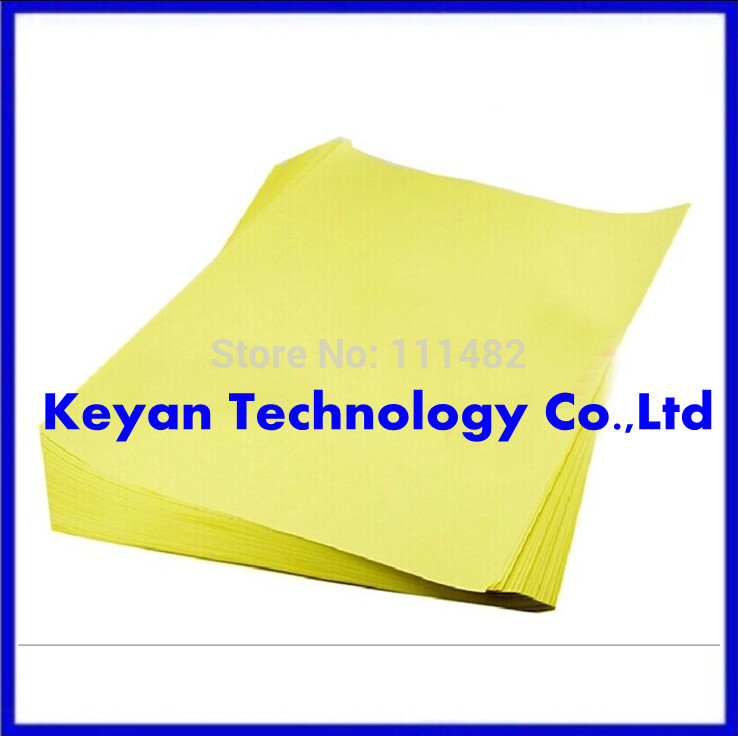 50pcs PCB circuit board thermal transfer paper, transfer paper A4 size hot sale in stock Highly recommended ...