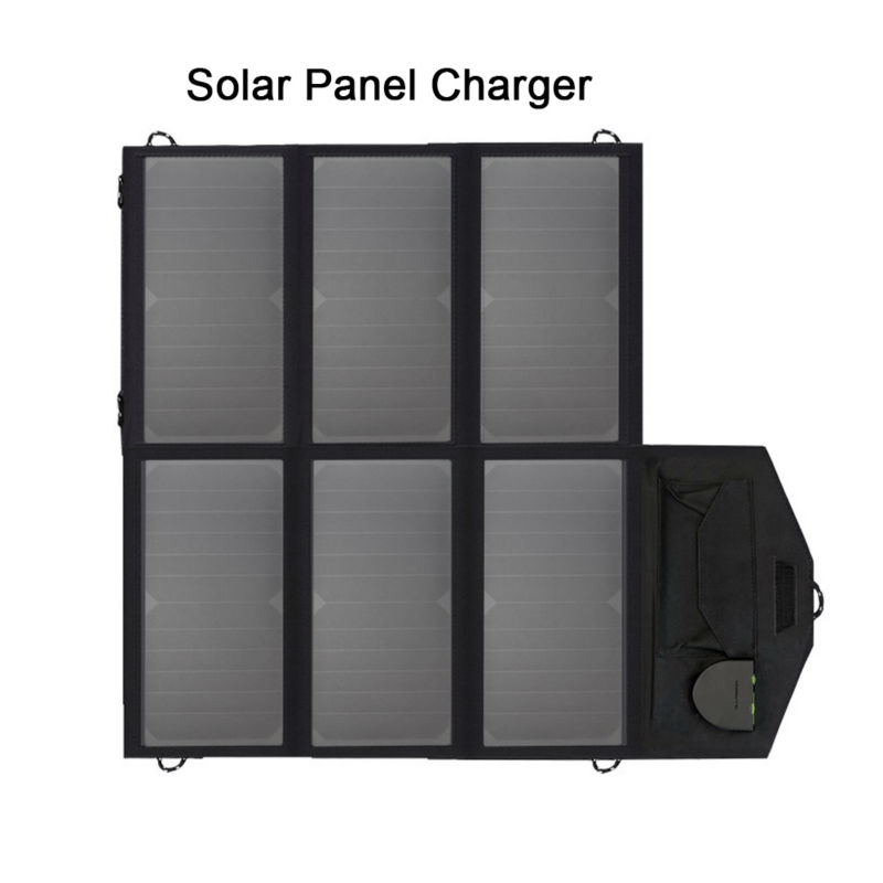 Portable Solar Panel Charger Solar Cell Charger for iPhone iPad Samsung HTC Sony 12 Car Battery 18~19V Laptops and more.