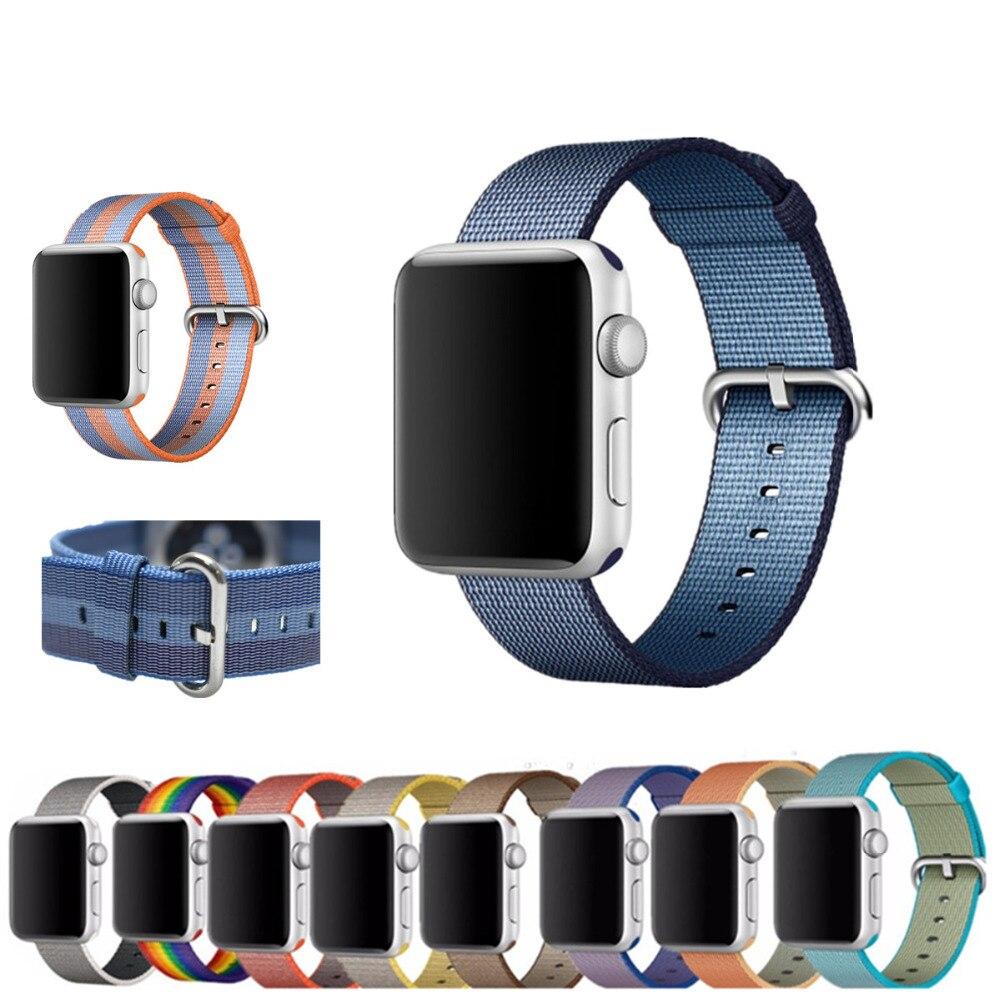 LNOP sport nylon strap cinturino Per Apple Watch band 42mm 38mm serie 3/2/1 della donna degli uomini di fascia di polso il braccialetto