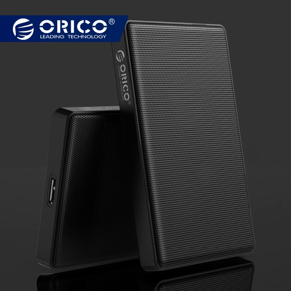 ORICO 2,5 zoll SATA zu USB 3.0 HDD SSD Fall für Samsung Seagate SSD 2 TB 4 TB Festplatte box Externe HDD Gehäuse Full Mesh