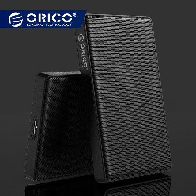ORICO 2,5 дюймов SATA к USB 3,0 HDD SSD чехол для samsung Seagate SSD 2 ТБ 4 ТБ жесткий диск коробка внешний корпус HDD полноячеистая сеть