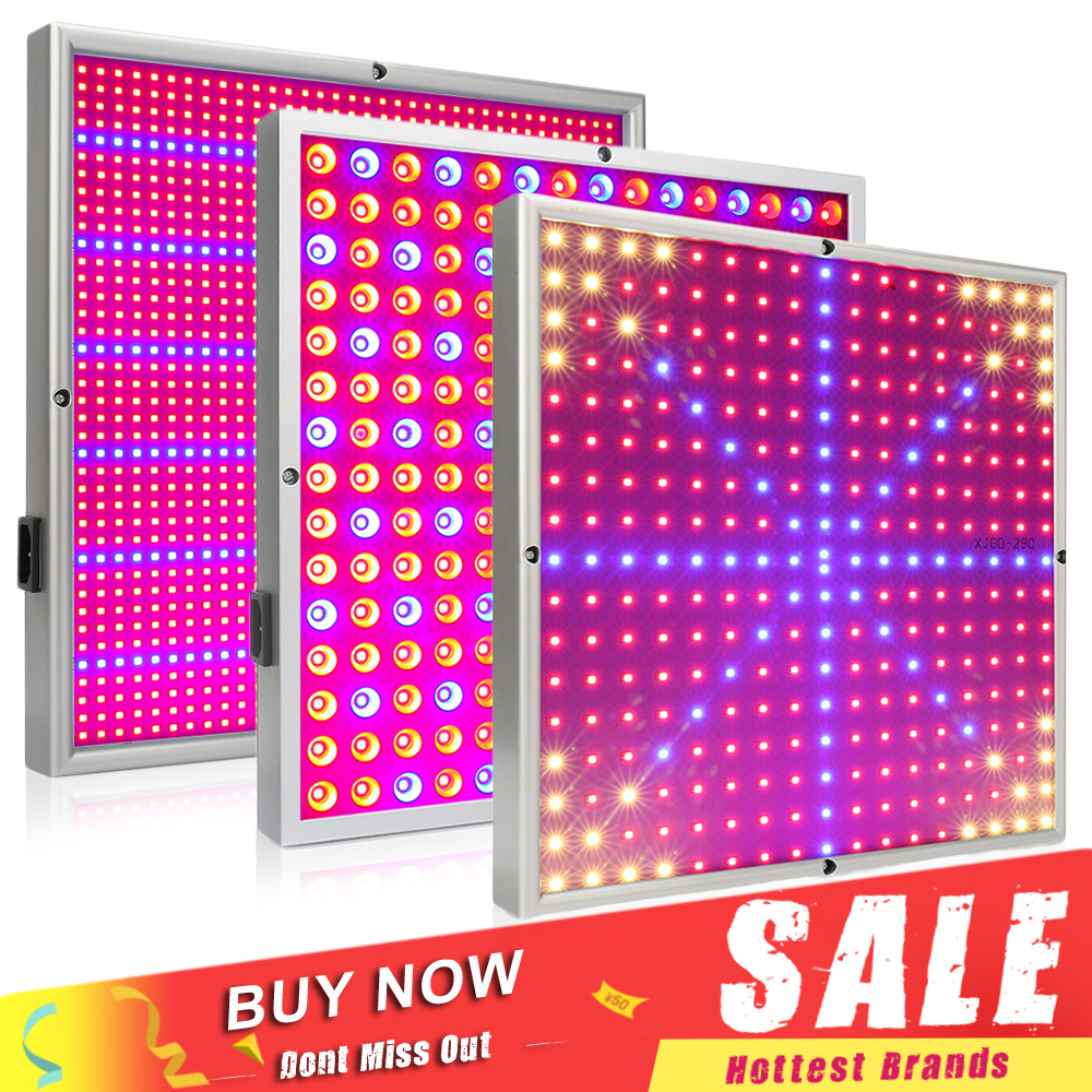 20W / 30W / 45W / 120W / 200W Full Spectrum LED Grow Light Grow Panel Lámpara de crecimiento para plantas de interior Flower Hydroponic Greenhouse Tent