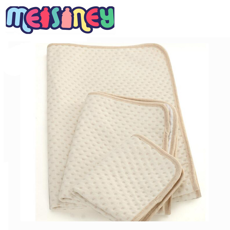 Latem mata ekologiczna z bawełny dla niemowląt, 35 * 45, bawełna - Pieluchy i Trenowanie toalety - Zdjęcie 2