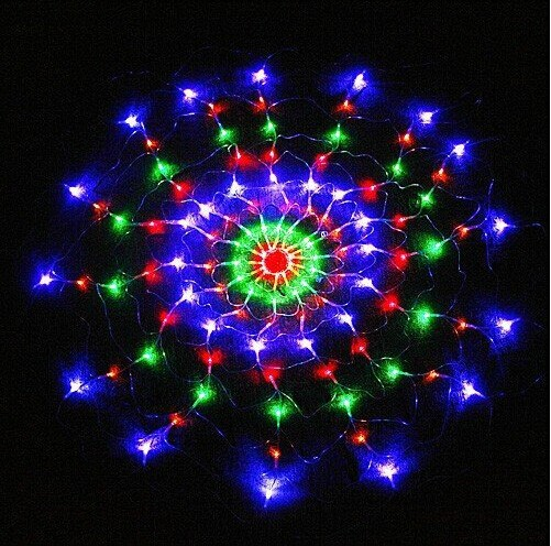 LED Net String Light  AC220V,Fairy Christmas Lights Decoration Holiday Party,Bulb Included