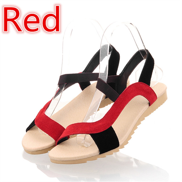 MORAZORA Low Price High Quality Cow Suede Nubuck Leather Women Sandals Flat Casual Summer Wedges Ladies Mixed Color Beach Shoes