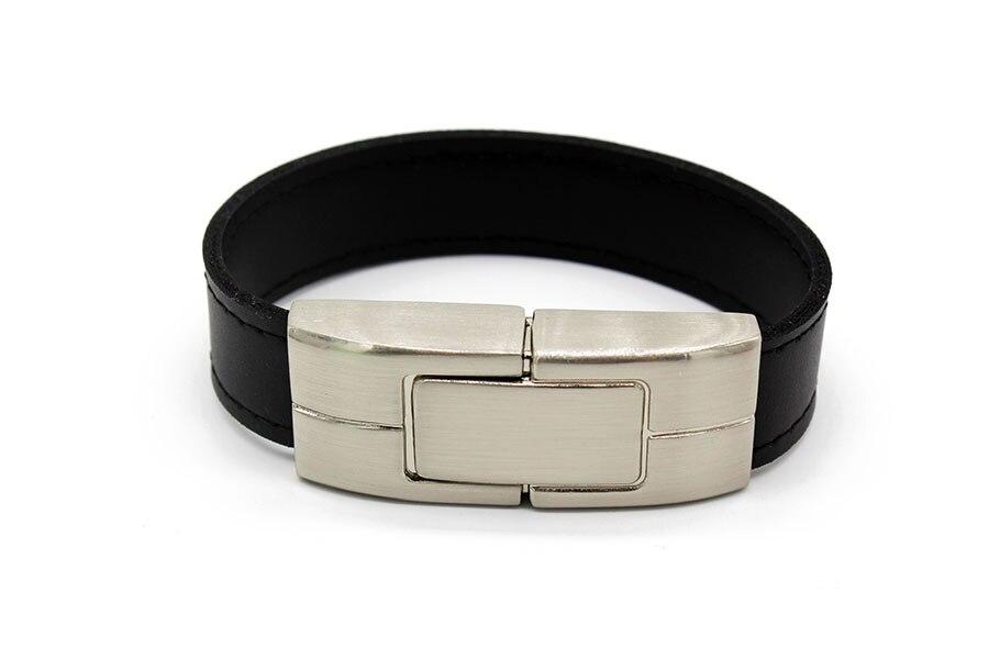 IsMyStore: black brown leather Wrist model  usb flash drive usb 2.0 4GB 8GB 16GB 32GB 64GB pen drive