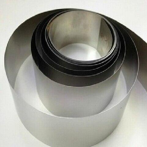 0,08*100 мм нержавеющая сталь фольга тонкая лента лист из нержавеющей стали полосы все размеры в наличии