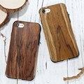 Floveme luxo caso do teste padrão tpu para iphone 7 plus caso de madeira de madeira grão macio voltar shell casos de telefone para o iphone 7 7 plus coque