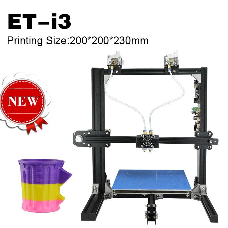 Marcos de Metal de gran Formato Impresoras 3D Casa Modelo Tipo Chino PLA Filamen