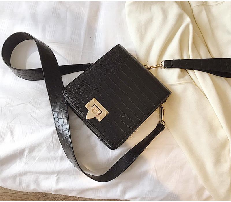 DIINOVIVO Fashion Alligator Female Handbags Designer Crossbody Bags for Women Small Square Bag Shoulder Messenger Purse WHDV0917 13
