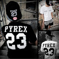 Pyrex 23 T Shirt Coupe T Shirt for Lovers Harajuku Influx of Men Women Pyrex Vision Clothing Hip-hop GD Bigbang Off White Pyrex