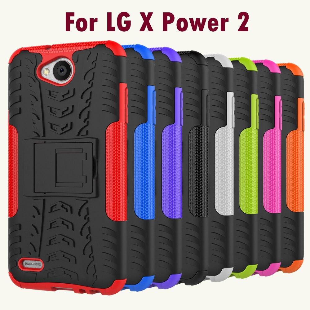 Pro LG X Power 2 Tvrdý nárazový kufr Silná clona Hybridní - Příslušenství a náhradní díly pro mobilní telefony