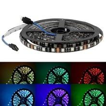 цена на 5050 SMD RGB LED Strip Light 5M 300LEDs DC 12V Waterproof Flexible Fairy LED Light Strip Lamp Band for Home Decoration Lighting