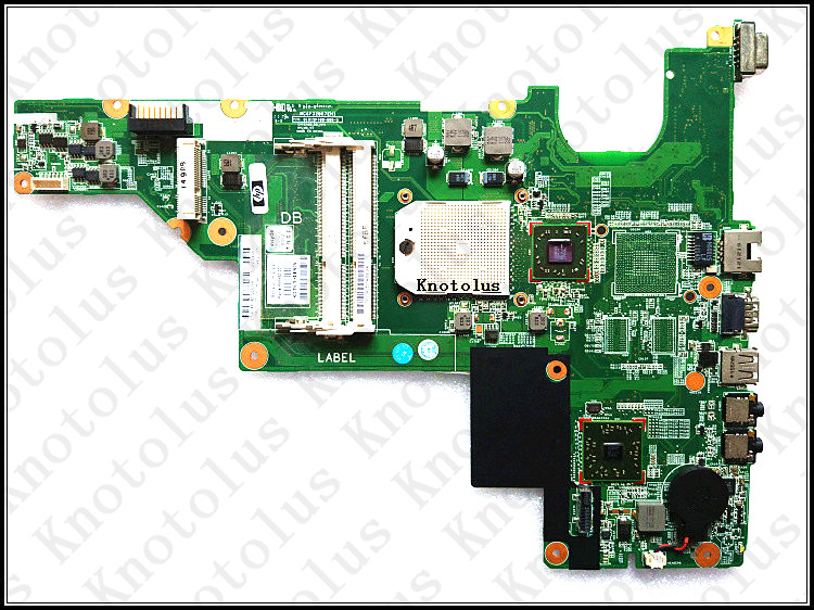 646982-001 for HP Compaq 435 635 CQ43 laptop motherboard amd DDR3 Free Shipping 100% test ok hp compaq presario cq57 383er qh812ea в рассрочку минск