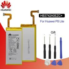 Hua Wei Оригинальная батарея для телефона HB3742A0EZC + настоящая 2200 мАч для Huawei Ascend P8 Lite сменные батареи Бесплатные инструменты