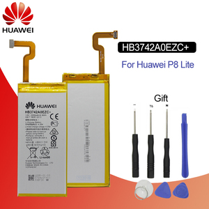 Image 1 - Hua Wei Original Phone Battery HB3742A0EZC+ Real 2200mAh for Huawei Ascend P8 Lite Replacement Batteries Free Tools