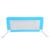 Venta caliente del cabrito del niño productos de seguridad del bebé de seguridad del bebé barandilla de la cama de seguridad para la cama 50*50*120 cm de color azul