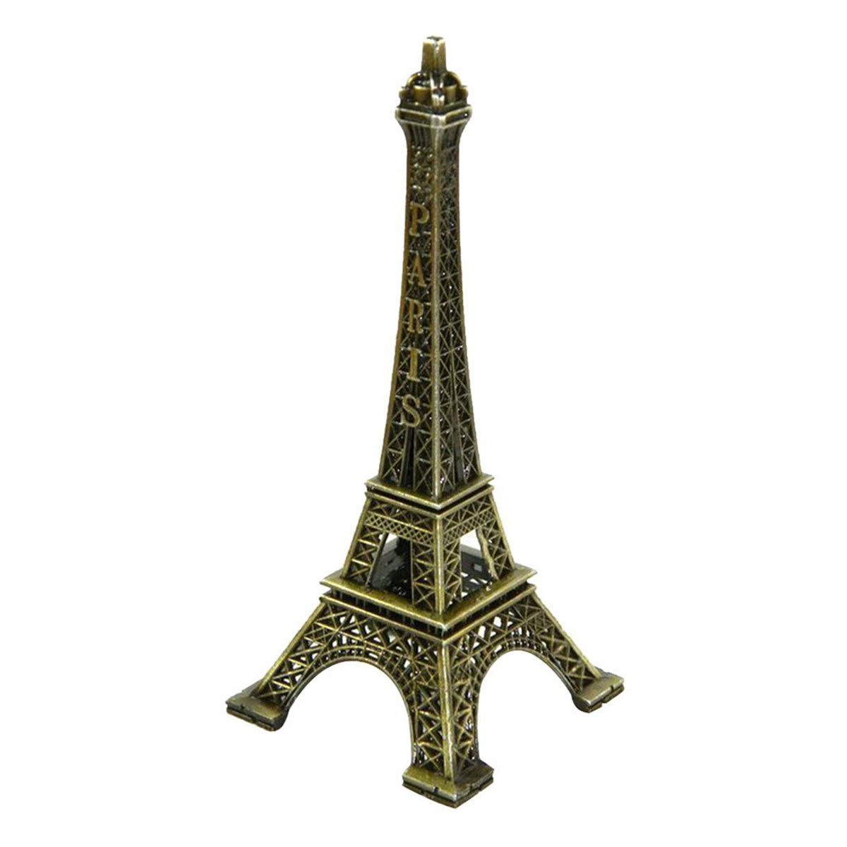 Metal Eiffel Tower Statue 12 Inches Eiffel Tower Model Souvenir Paris Replica from France