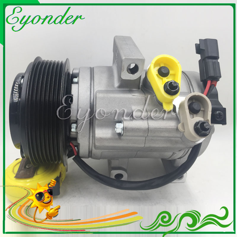 AC Air Conditioner Compressor Cooling Pump for Ford Ranger Pickup 3.2 TDCi UC9M-19D629-BB AB39-19D629-BB 1715092 AB39-19D629-AB 520w cooling capacity fridge compressor r134a suitable for supermaket cooling equipment