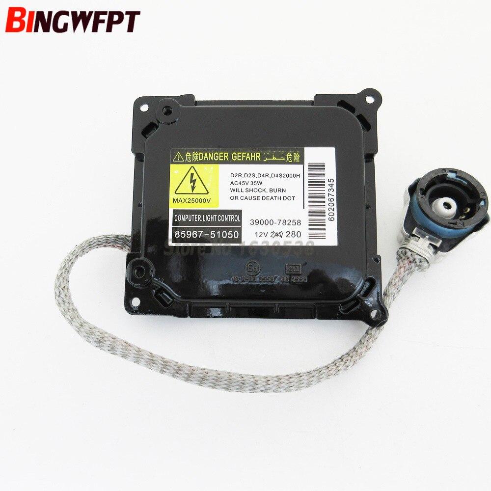 D4S D4R HID Xenon Headlight Ballast Control Unit 85967-51051 85967-52021 85967-53041 85967-06020 For Toyota Lexus цена