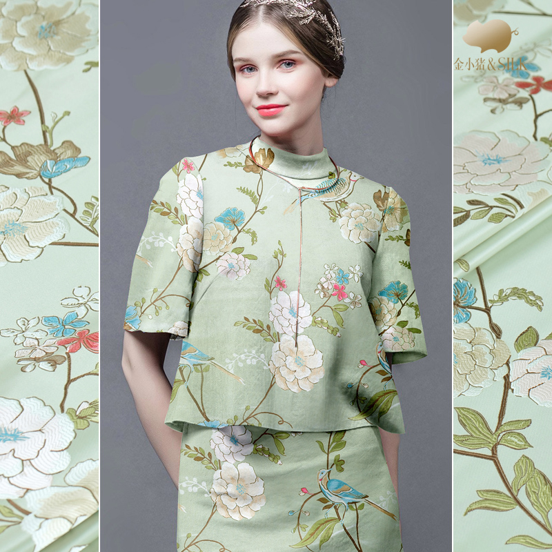 Objective 145cm Leaf Jacquard Fabric Yarn-dyed Fashion Suit Dress Jacquard Fabric Jacquard Dress Fabric Wholesale Cloth Ebay Motors Parts & Accessories