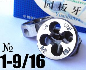 Free shipping of 1PC Alloy steel made UNEF 1-9/16