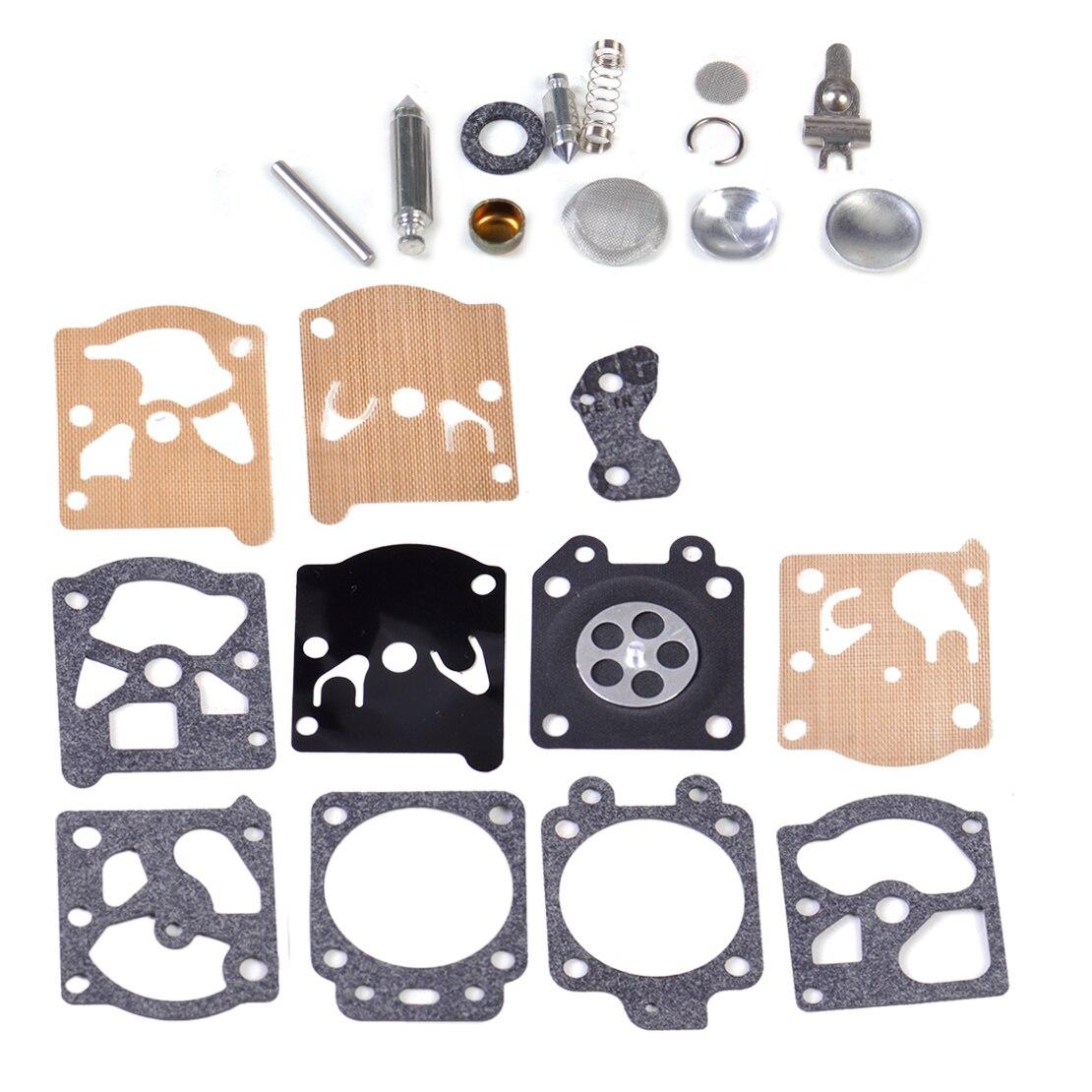 LETAOSK Carburetor Repair Kit Carb Gasket Rebuild Tool Gasket Set Diaphragm fit for Walbro K20-WAT WA WT Series 2017 new arrival carburetor carb gasket diaphragm replacement kit fit chainsaw for rb 39 c1q serise