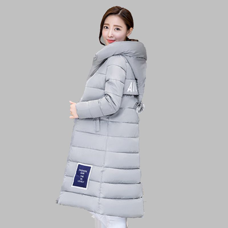 Winter Women Jacket 2016 New fashion Blus Size Hooded Jacket Slim Show thin Long Cotton Clothes Warm Joker jacket trend WY020