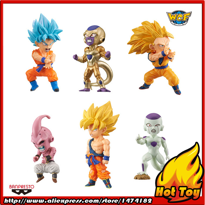 100% Original Banpresto WCF Complete Collection Figure  BATTLE OF SAIYANS Vol.3 - Full Set of 6 Pieces from Dragon Ball Z earth 2 vol 3 battle cry the new 52