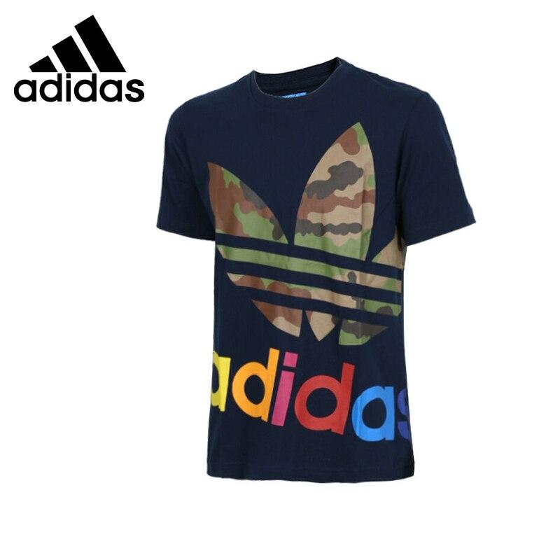 ФОТО Original New Arrival  Adidas  Originals  Men's Camouflage T-shirts short sleeve Sportswear