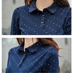 BOBOKATEER Long Sleeve Tshirt Women T Shirt Cotton Tee Shirt Femme Solid Casual T-shirt Women Tops Poleras Camisetas Mujer 2019 6