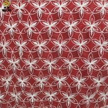 Shuanshuo Transparent Lace Cloth  Net Embroidery Clothing Fabric Three-Dimensional Embroidered Mesh 130*50cm