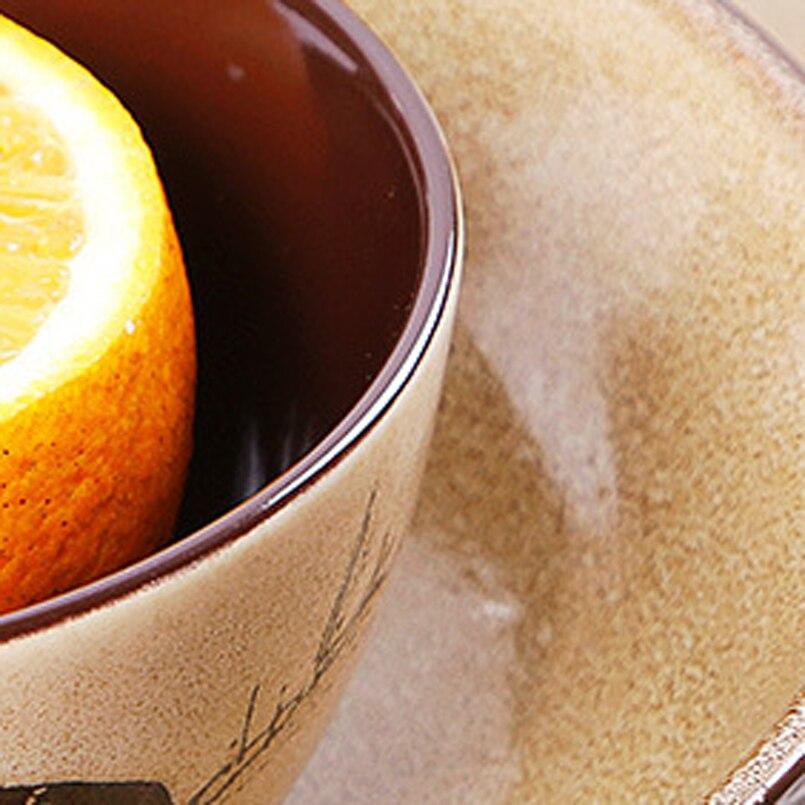 8inch Platos de keramika əl ilə boyanmış keramika qabı əriştə - Mətbəx, yemək otağı və barı - Fotoqrafiya 5