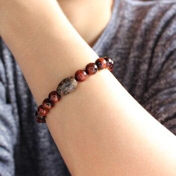 Bracelet Tibetain Oeil De Tigre