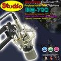 Bm700 студии звукозаписи конденсаторный микрофон профессиональный караоке Mic майк для пк вещания музыку создать с металлической ShockMount