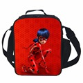 Miraculous Ladybug lunch Bag Thermal Food Picnic Lunch Bags for Women kids Men Cooler Lunch Box Bag
