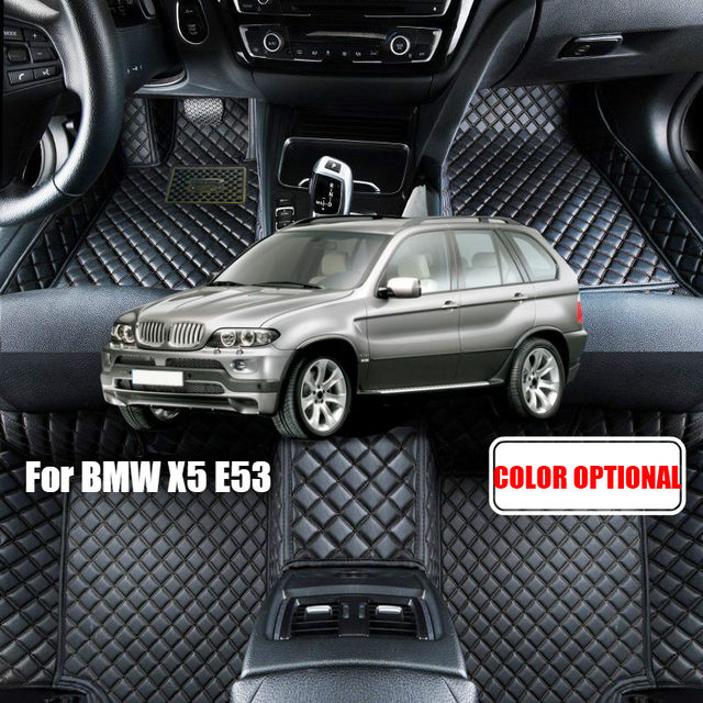 Custom Car Floor Mats Carpet For BMW X5 E53 2004 2006 E70 2008 2013 F15 2014 2016 Auto Accessories Styling