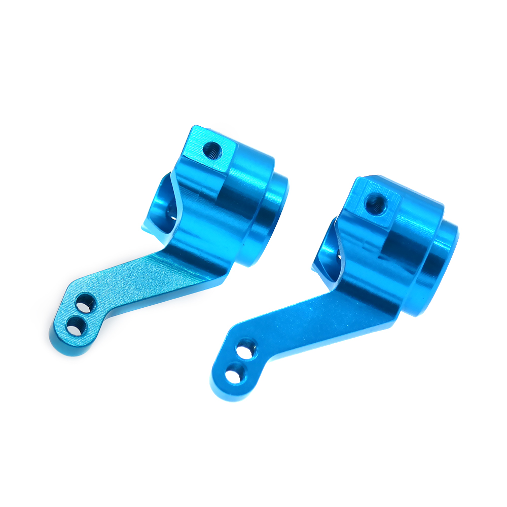 RCAWD Steering Hub Carrier 2PCS For Rc Hobby Model Car 1/10 Hsp Redcat Himoto Steering Hub Carrier 102011 Blue Purple