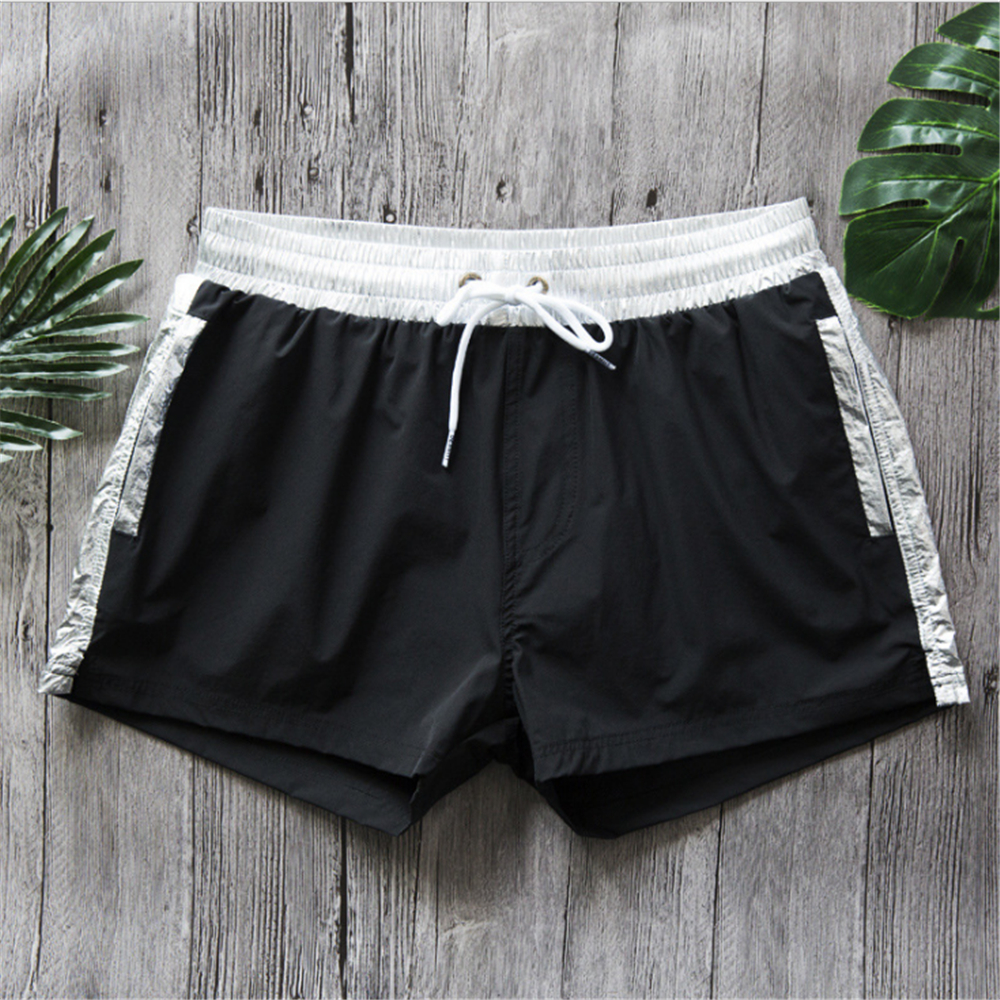 New Quick Dry Men's Swim   Shorts   Mesh Line Surfing Beach   Short   Maillot De Bain Sport Bermuda Surf Swimwear Men's   Board     Shorts