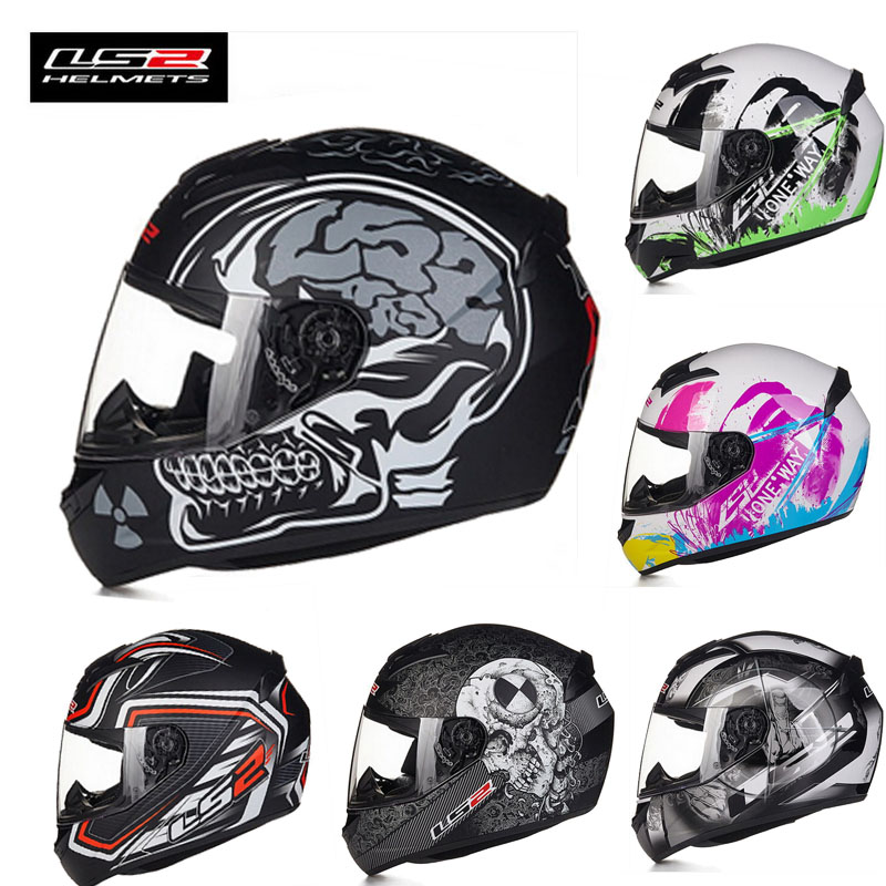 LS2 ff352 full face motocross font b Helmet b font motorcycle MOTO electric biker motorbike safety