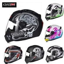 Ff352 ls2 de la cara llena casco de motocross motocicleta moto biker moto racing off road cascos de la mujer los hombres de seguridad eléctrica