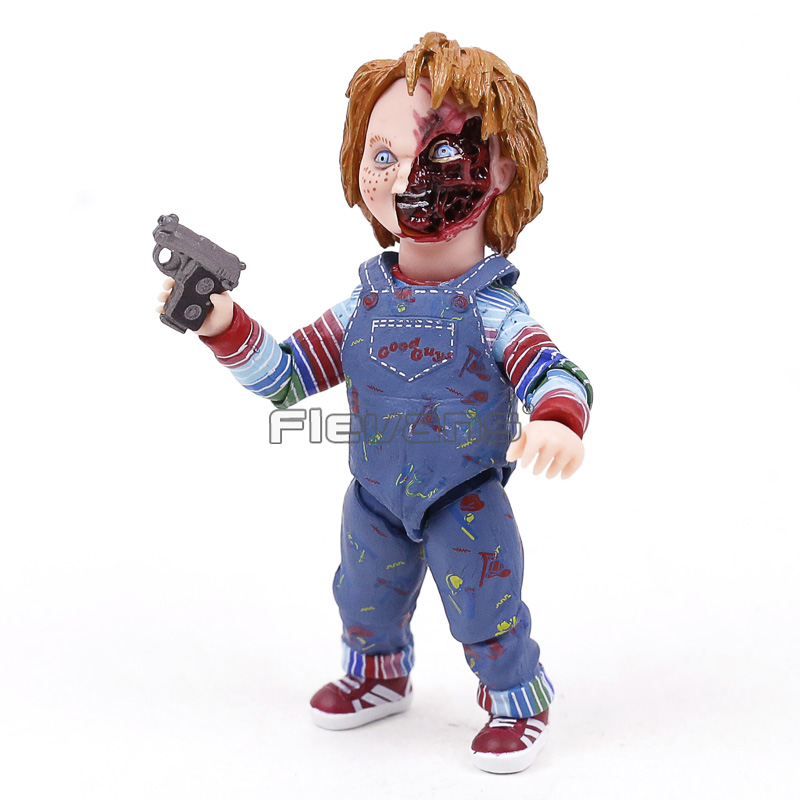 NECA Childs Play Good Guys Ultimate Chucky PVC Action Figure Collectible Model Toy 4 10cm neca epic marvel deadpool ultimate collectible 1 4 scale action figure model toy 16 45cm ems free shipping