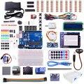 ООН R3 starter Kit для ARDUINO с Step Motor/Серво/1602 LCD/перемычку/HC-SR04 Ультразвуковой комплект датчиков
